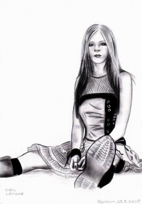 Avril Lavigne par AllieH